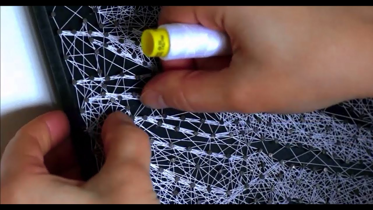string art - making of \
