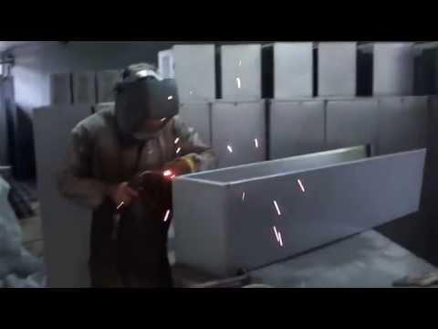 Fabricaci n de muebles met licos youtube for Fabrica de muebles metalicos