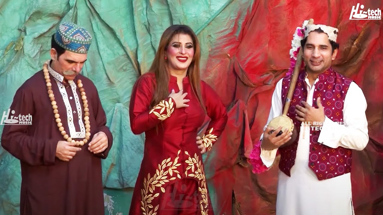 Comedy Song - Sakhawat Naz aur Abid Charlie Ne Kadi Larki Dekhi Nahi - Hi-Tech Stage Dramas