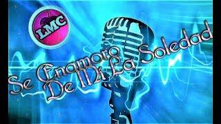 LUCAS SUGO | SE ENAMORO DE MI LA SOLEDAD | Karaoke