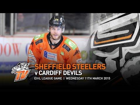 Sheffield Steelers v Cardiff Devils - EIHL - Wednesday 11th March 2015