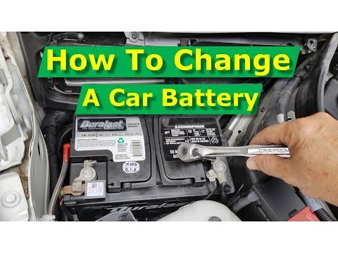 How To Replace A Car Battery Mercedes-Benz C-Class C250 (W204), Any Car