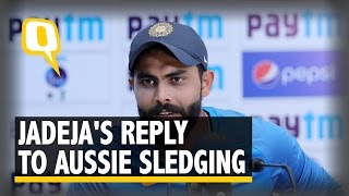 The Quint: Here's What Ravindra Jadeja Had to Say About the Sledging on Day 3