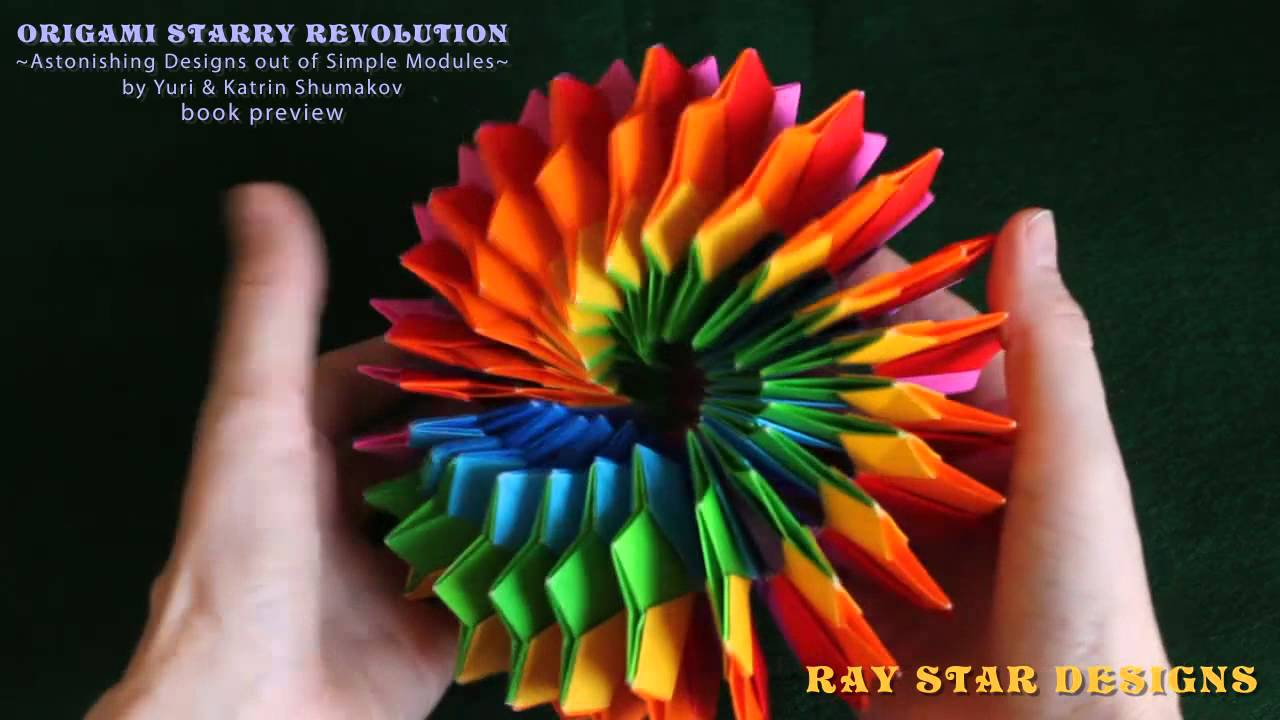 origami starry revolution book preview youtube