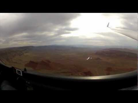 Gliders Racing 1000 Feet Above the Desert Floor
