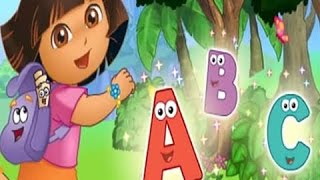 Dora la exploradora en Español Latino and Ingles Dora's Alphabet Forest Adventure Game