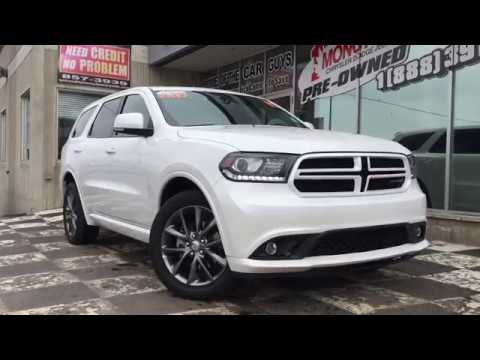 2017 Dodge Durango Gt Fully Laoded Navigation Sunroof Leather Suv