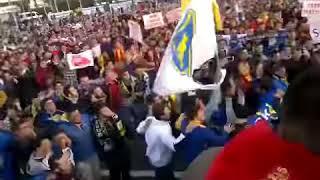 Video 173   İzmir Trübünleri, Şehirdeki Stat Sorunu Nedeniyle 5 Yıl Önce Tek Yürek Olmuştu✊
