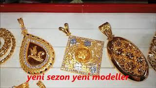 22 Ayar Altın Kolye Madalyon Modelleri Yeni Sezon (YENİ MODELLER)