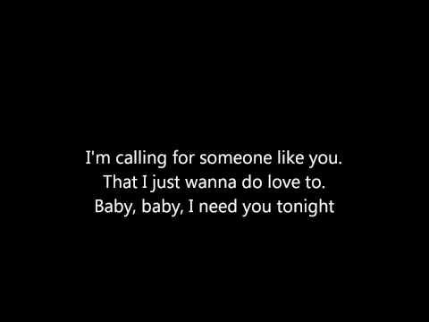 ZZ Top, I need you tonight. Lyrics