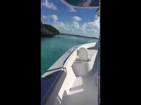 Bahama 41 Center Console Boat - Cruising in the Bahamas