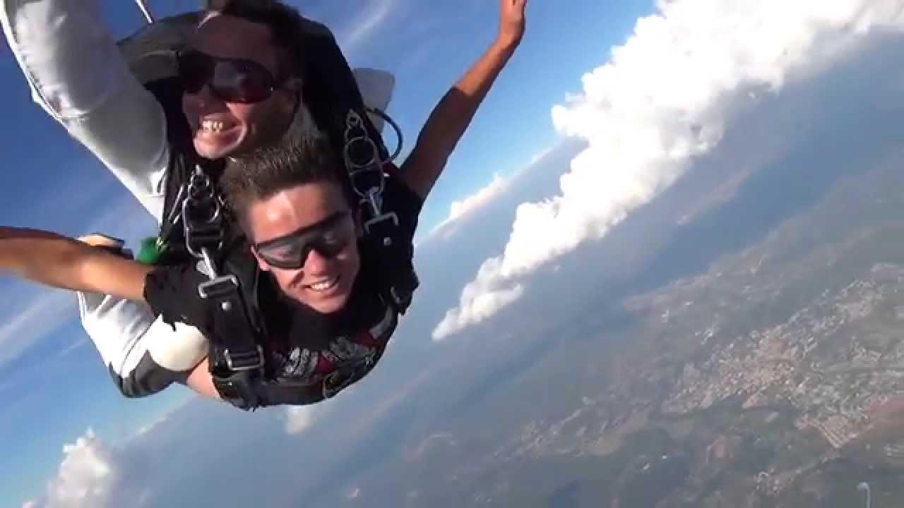 saut en parachute au luc