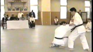 Gozo Shioda Sensei and Mike Tyson at Yoshinkan Aikido Headquarters