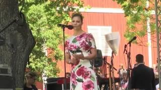 Kronprinsessan talade i Järfälla på nationaldagen
