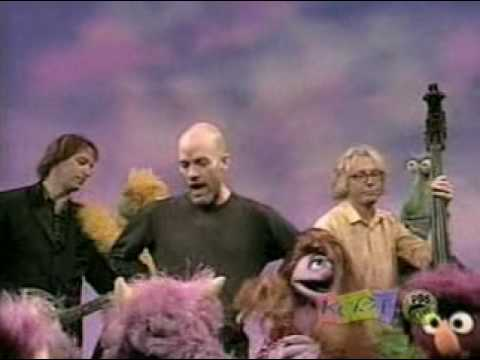 REM and The Muppets:  Furry Happy Monsters Shiny Happy People [HQ]