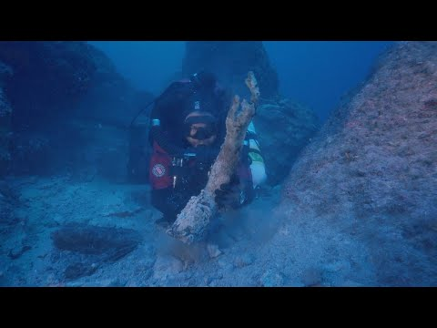 Divers Pull Priceless Artifacts From Ancient Shipwreck