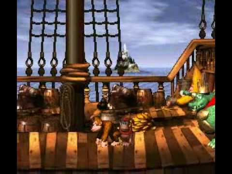 Donkey Kong Country - Gang-Plank Galleon