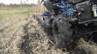 Возможности полноприводного минитрактора(Как самому сделать полноприводный мини трактор. Об этом здесь., 2014-10-15T16:25:17.000Z)