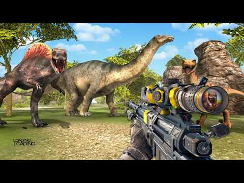 Carnivore Dinosaur Hunting Sniper Helicopter | Shooting Game #1 | Android Gameplay | Droidnation