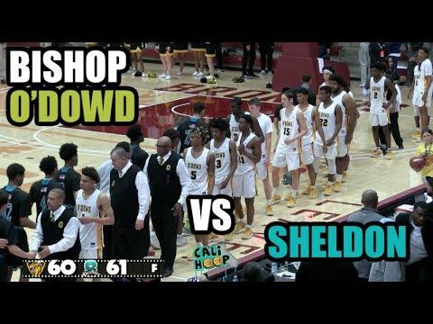 Sheldon v O'Dowd  Open Division Championship at Santa Clara CaliHoop