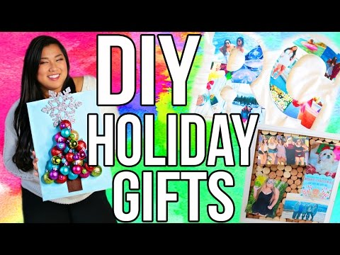 DIY Holiday Gifts! Cute, Cheap & Easy!!