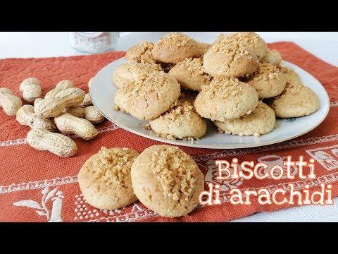 Biscotti di arachidi