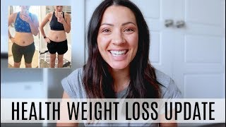 WEIGHT LOSS/ HEALTH UPDATE | ONE YEAR AFTER HAVING TWINS!