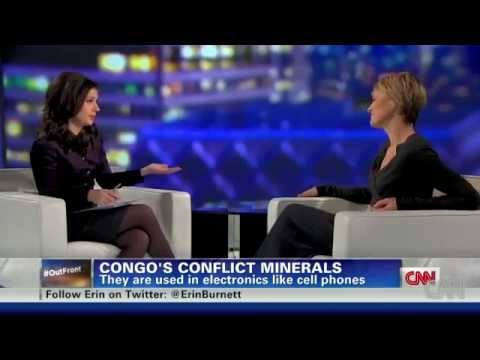Robin Wright interview on CNN about Congo Minerals   War 12 14 2011   YouTube