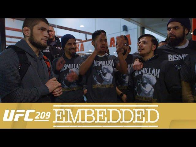 UFC 209 Embedded: Vlog Series - Episode 1