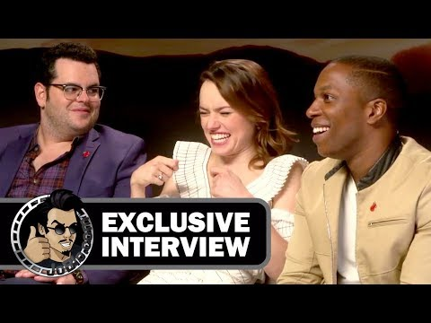 Download Youtube: Daisy Ridley, Josh Gad & Leslie Odom Jr. Interview - MURDER ON THE ORIENT EXPRESS (Exclusive)
