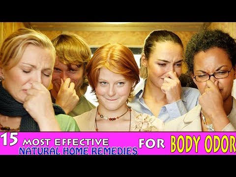 How To Get Rid Of Body Odor - 15 Most Effective Natural Home Remedies for Body Odor|Health Solution