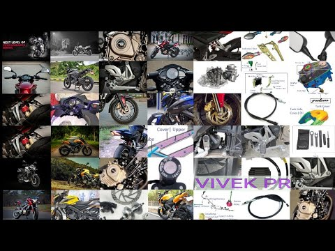 BAJAJ PULSAR NS200 SPARE PARTS & PRICE LIST