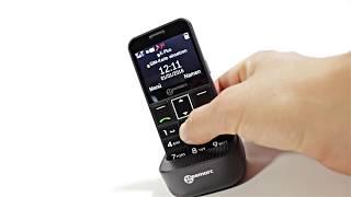 Produktvideo zu Seniorenhandy Geemarc CL 8360 Schwarz