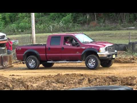 RRE 2014 Sled Pulls Red Crew Cab 7.3 Powerstroke