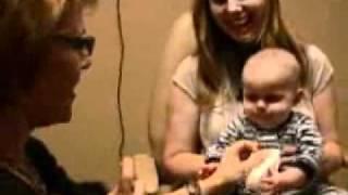 Baby AJ's Eye Exam Part 1