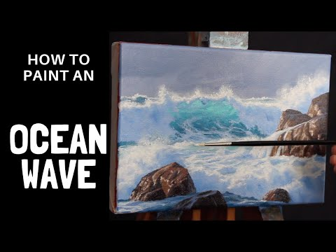 How to Paint a Breaking Wave