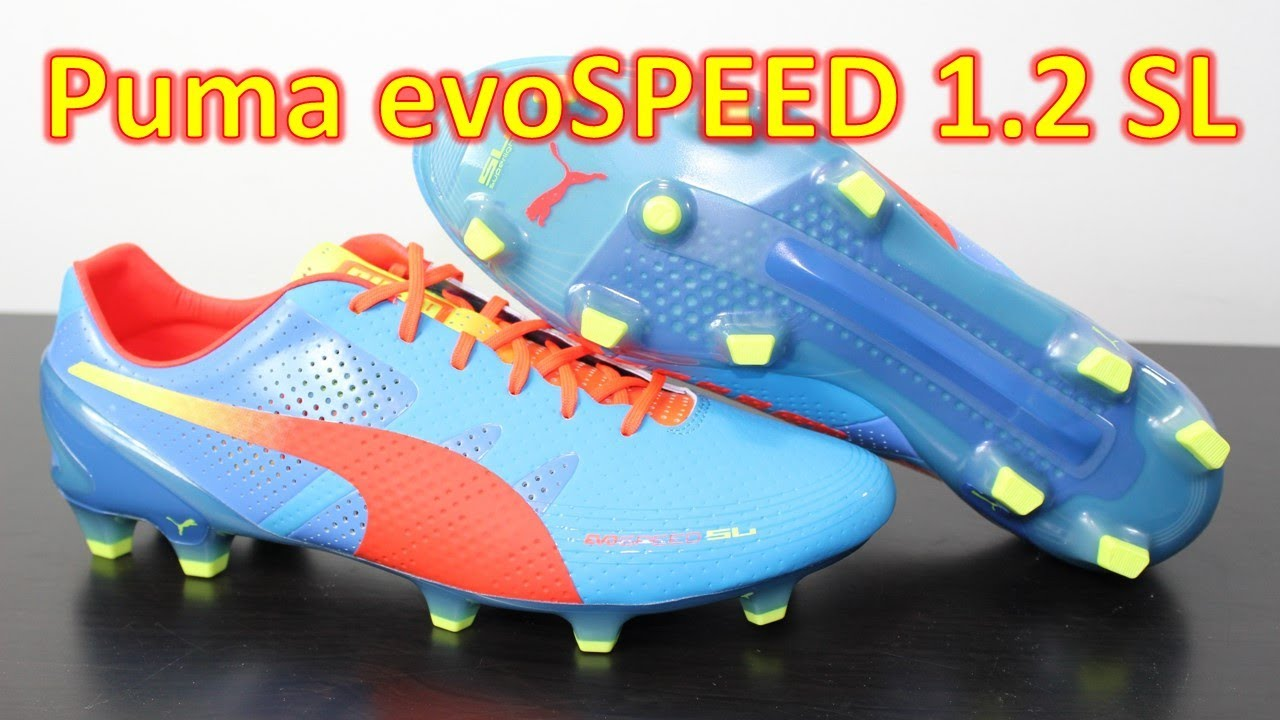 low priced 9ec4b a001d Puma evoSPEED 1.2 SL Sharks Blue - Unboxing + On Feet - YouTube