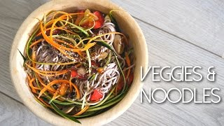 Veggies And Noodles | Inspiration Asiatique