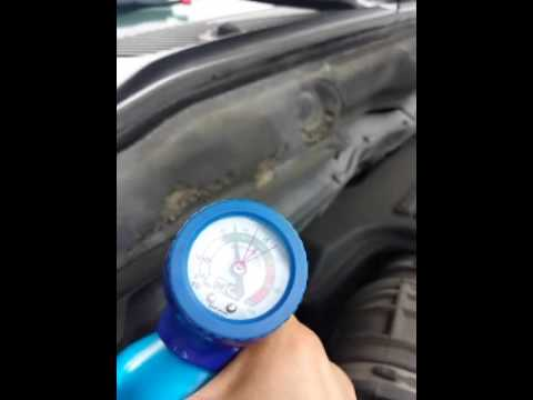Recharging Air Conditioning On 2003 Dodge Ram 1500
