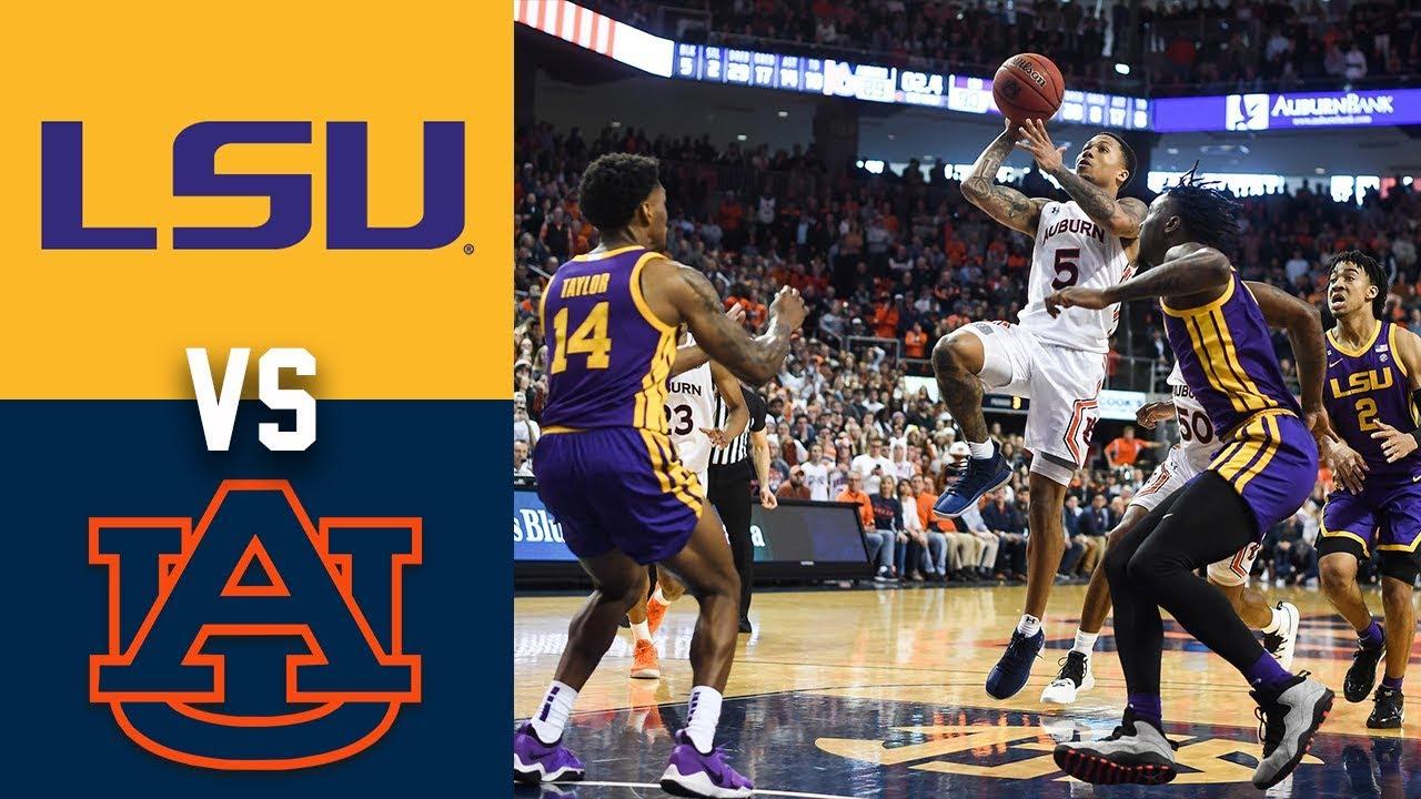 auburn vs lsu basketball