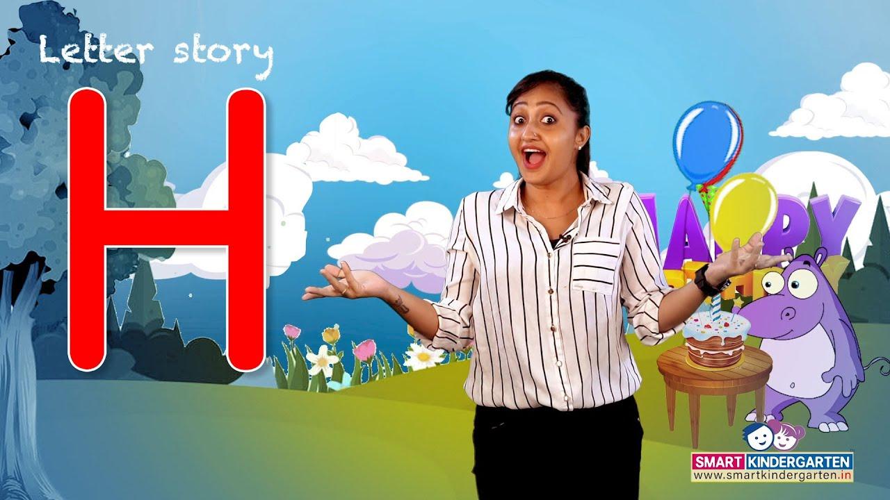Alphabet H letter story for Kindergarten kids