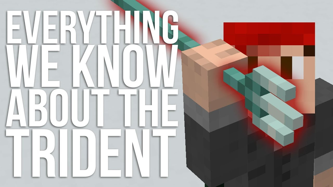 Everything We Know About The Trident In Minecraft Youtube