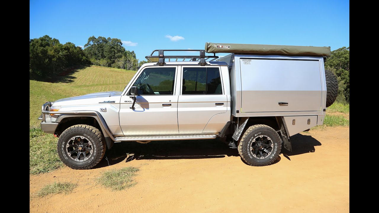 Building The Map Patrol Canopy Modified Landcruiser 79