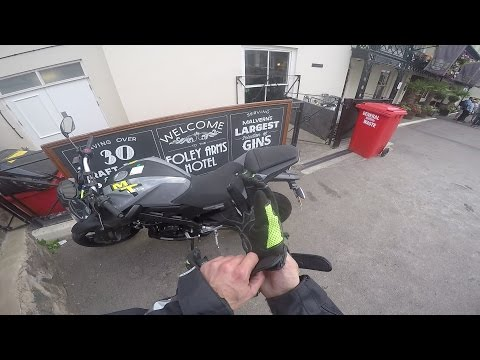 Observations in a conurbation - Yamaha MT125