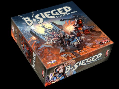 Unboxing: B-Sieged Defender pledge + Darkness & Fury expansion