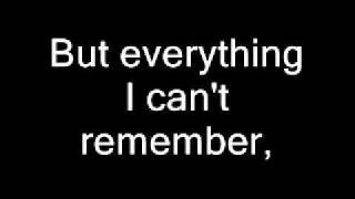Staind-Its Been Awhile Lyrics