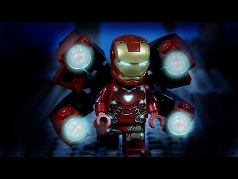 LEGO Avengers Endgame Iron Man, Captain America and Thor vs Thanos
