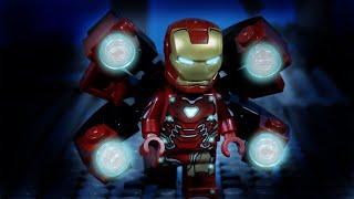 LEGO Avengers Endgame Iron Man, Captain America and Thor vs Thanos