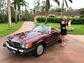 SOLD 1987 Mercedes-Benz 560SL, only 47K Miles, Collector, for sale by Autohaus of Naples