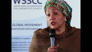 Reflections on Sanitation: UN Deputy Secretary General Amina J Mohammed